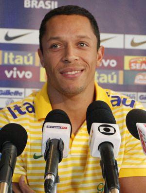 Adriano, lateral da Seleção, na Costa Rica (Foto: Rafael Ribeiro/CBF)