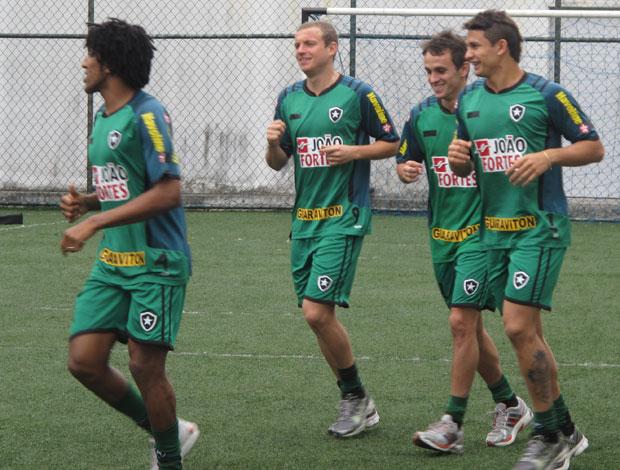 Treino do Botafogo (Foto: Thiago Fernandes/Globoesporte.com)