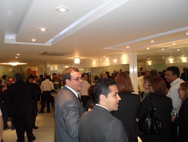 Nova sede da Ferj (Foto: Marcelo Baltar / Globoesporte.com)
