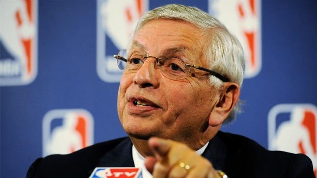 David Stern, presidente da NBA (Foto: Getty Images)