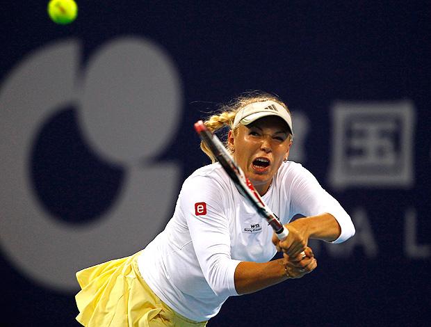 tênis caroline wozniacki wta de pequim (Foto: Agência Reuters)