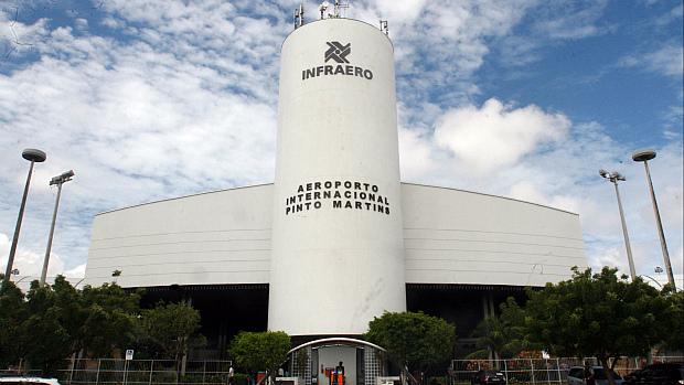 Aeroporto Internacional Pinto Martins, em Fortaleza (Foto: Alex Costa / Agência Diário)
