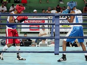 Lutadores de MT no Brasileiro de Boxe no ES (Foto: CBB)