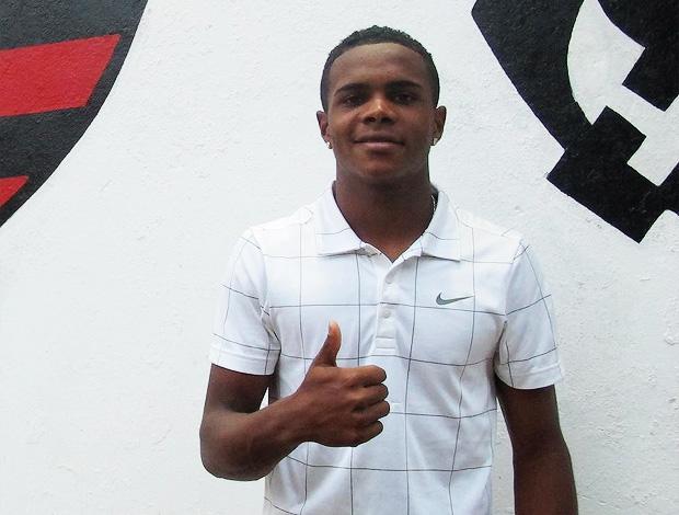 Felipe Dias  Feijão flamengo (Foto: Janir Junior/Globoesporte.com)