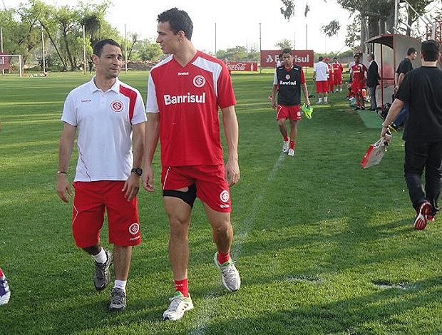 leandro damião internacional (Foto: Alexandre Alliatti/Globoesporte.com)