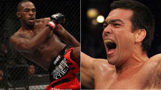 Montagem Jon Jones Lyoto Machida UFC (Foto: Montagem/SporTV.com)