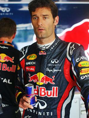 Mark Webber treino livre RBR Suzuka GP do Japão (Foto: Getty Images)