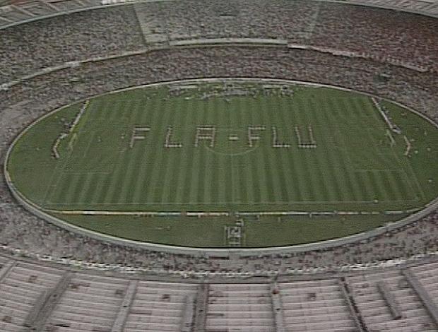 Fla-Flu do Esporte Espetacular (Foto: Reprodução/TV Globo)