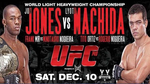 Lyoto e Jones cartaz (Foto: Reprodução SporTV)