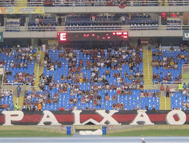 Torcida Flamengo Engenhão (Foto: Janir Junior / Globoesporte.com)