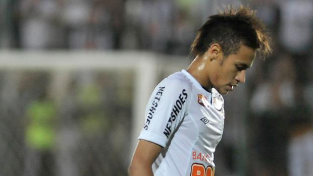 neymar atlético-mg x santos (Foto: Agência Estado)