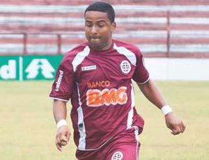 Flávio, atacante da Desportiva Ferroviária (Foto: Bruno Roas/Divulgação)