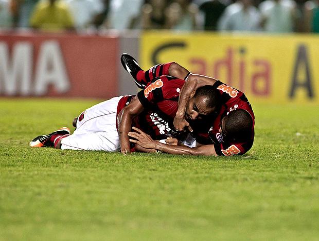 deivid flamengo gol ceará (Foto: Jarbas Oliveira / Agência Estado)