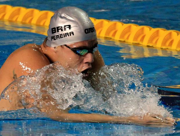 Natação - Thiago Pereira compete nos 400m no Pan-Americano (Foto: Reuters)