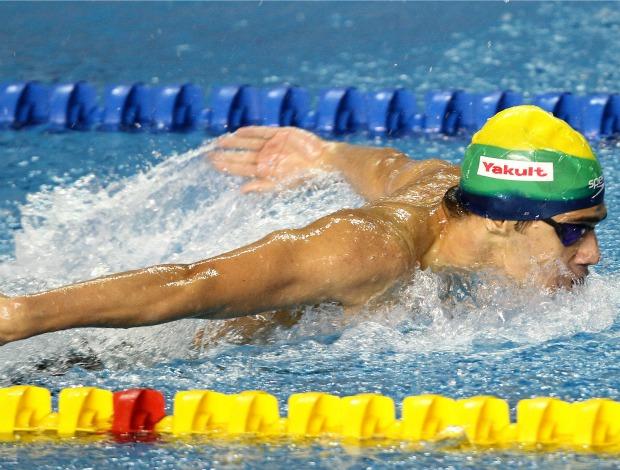 Pan natação 200 borboleta Leonardo de Deus (Foto: Divulgação/Jefferson Bernardes/Vipcomm)