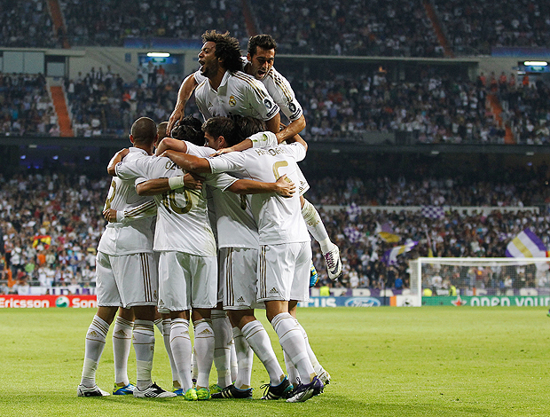 gol Real Madrid (Foto: AP)