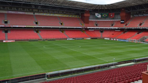 Arena da Baixada, do Atlético-PR (Foto: Jairton Conceição/RPC TV)