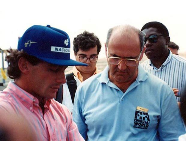 Mihaly Hidasy, diretor de provas do GP do Brasil de 1991 ayrton senna (Foto: Arquivo Pessoal)