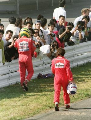 Mihaly Hidasy foi 'escalado' para acabar com inimizade entre Senna e Prost (Foto: AFP)