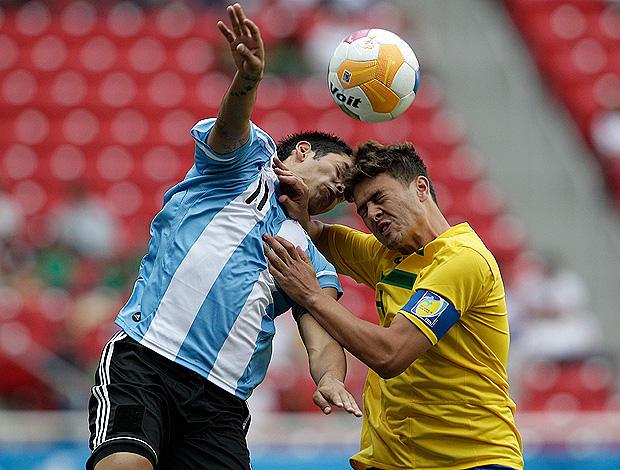 romario sergio araujo Brasil x Argentina pan-americano (Foto: Reuters)