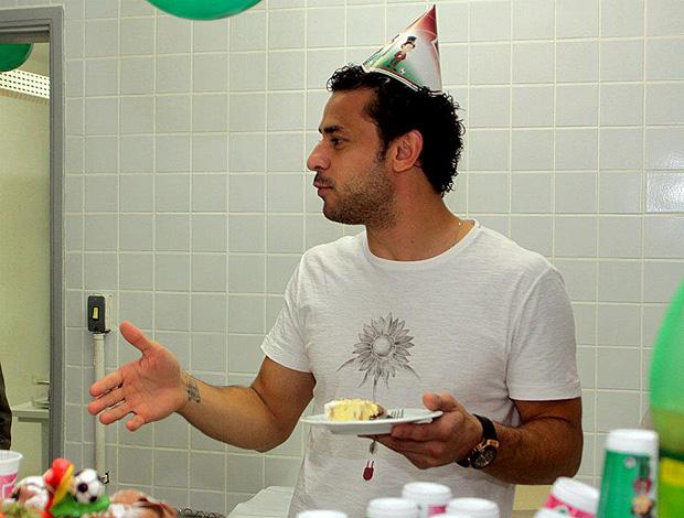 Fred Fluminense aniversário (Foto: Reprodução)