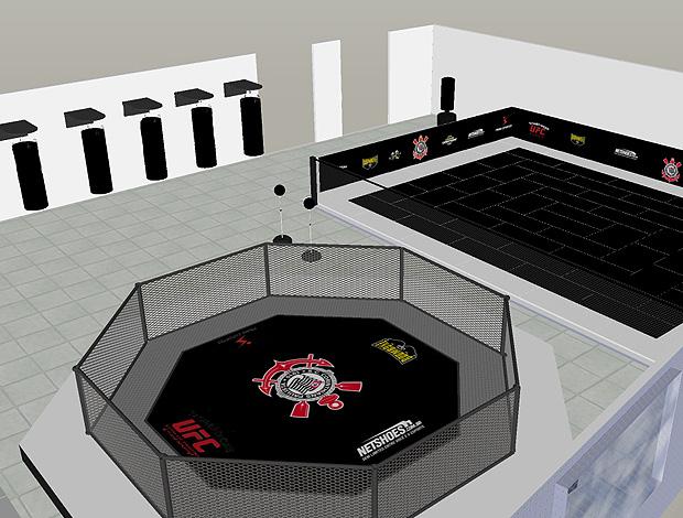 Projeto MMA Academia Corinthians (Foto: Divulgação)
