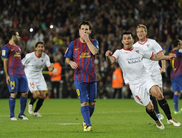 Lionel Messi Barcelona Sevilla (Foto: Getty Images)