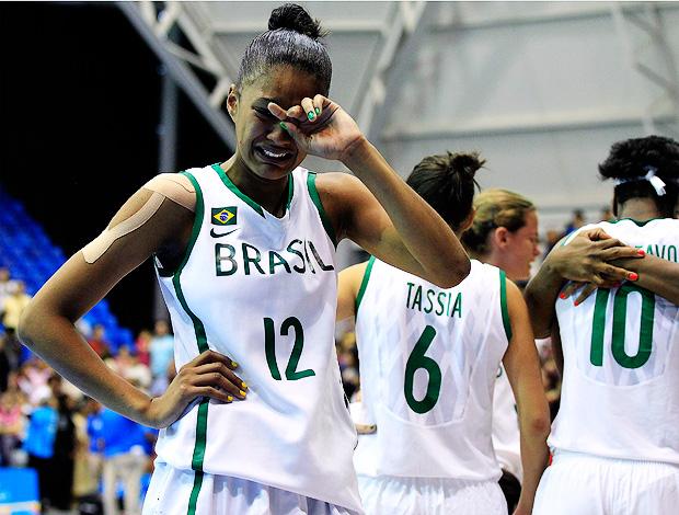 damiris porto rico x brasil basquete pan-americano guadalajara (Foto: Reuters)