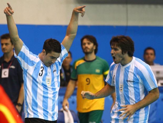 Pan handebol masculino Brasil x Argentina (Foto: Luiz Pires/Vipcomm/Divulgação)