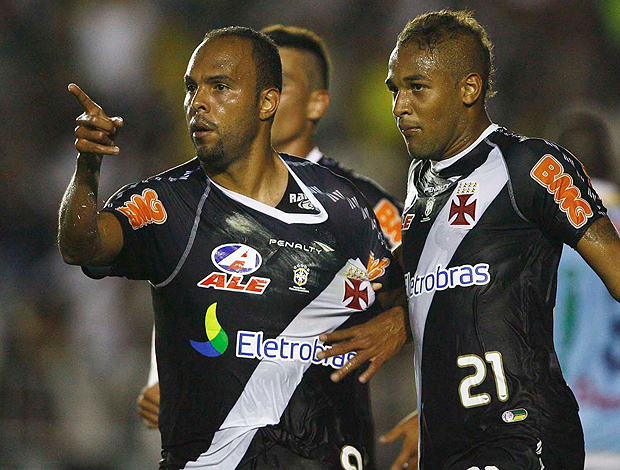 Alecsandro gol vasco  (Foto: André Portugal / FOTOCOM.NET )