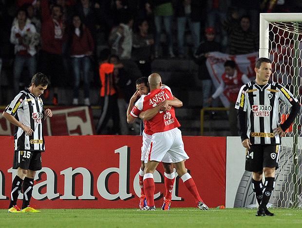 Santa Fé x  Botafogo (Foto: AFP)