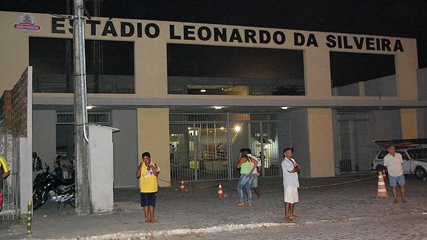 estádio da graça em joão pessoa (Foto: Renata Vasconcellos)