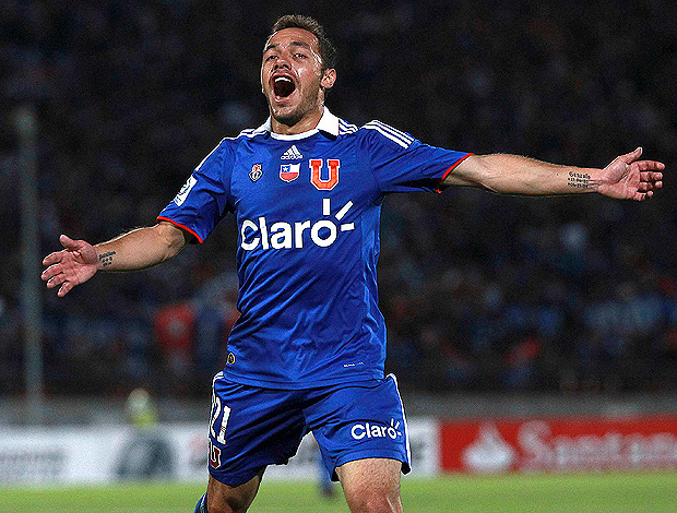 marcelo diaz universidad do chile x flamengo (Foto: Reuters)