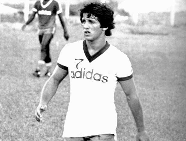 Osni no Bahia em 1984 (Foto: Arquivo / Ag. Estado)