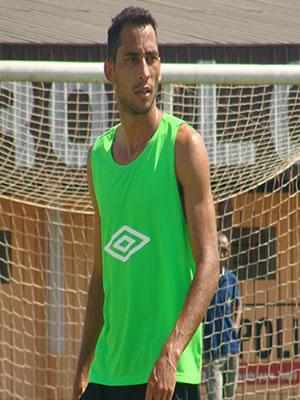 Fernando, do Cuiabá, diz que está pronto para partida (Foto: Dhiego Maia)