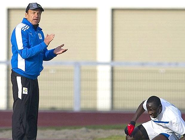 Gernot Rorh treinador gabão (Foto: Agência AFP)