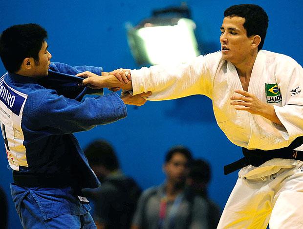 Felipe Kitadai na luta de judô do Pan (Foto: VIPCOMM)