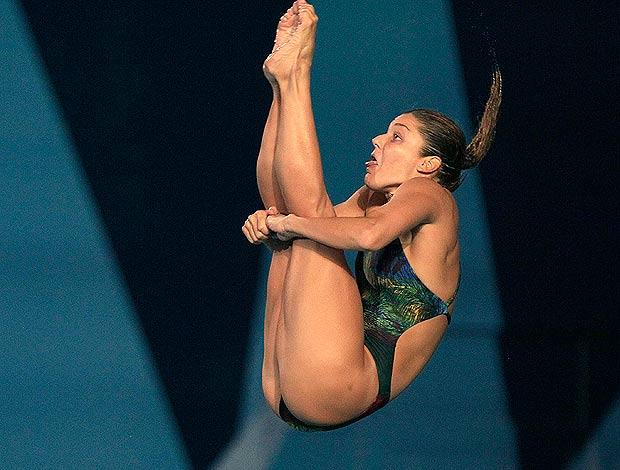 juliana veloso saltos ornamentais pan (Foto: AP)