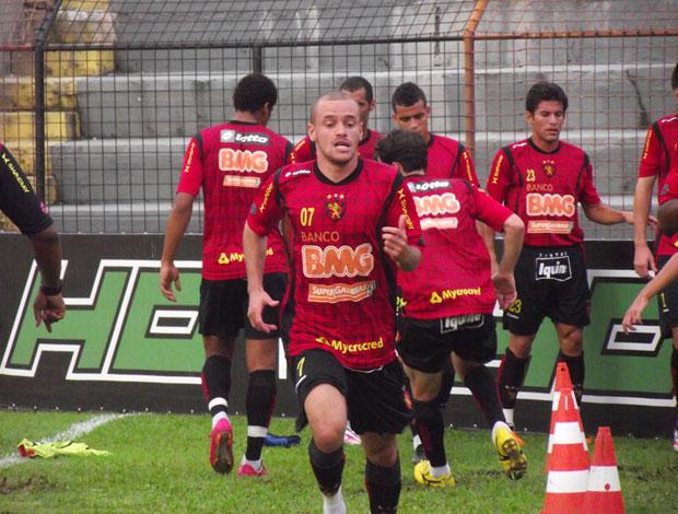 Thiaguinho, lateral do Sport (Foto: Divulgação / Sport)