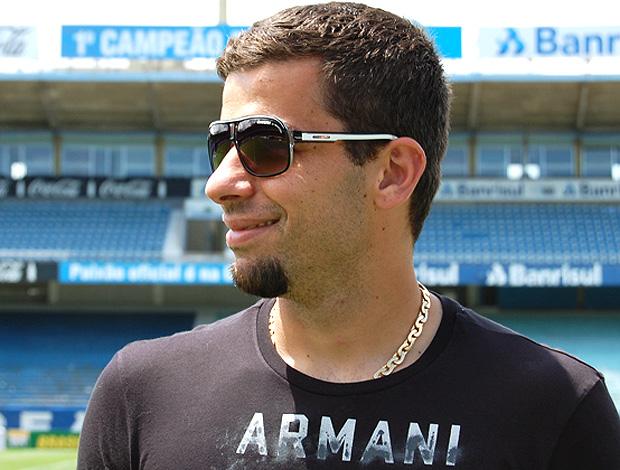 André Lima do Grêmio (Foto: Bruno Junqueira / TRATO.TXT)