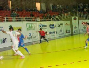 Paraná empata no Futsal (Foto: Divulgação/Paraná Clube)