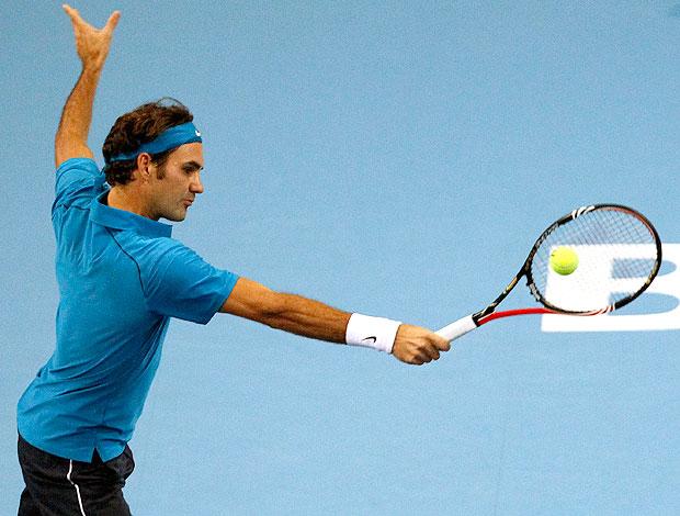 Roger Federer Tênis Basel (Foto: Reuters)