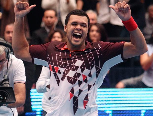 Jo-Wilfried Tsonga tênis Viena final (Foto: Reuters)