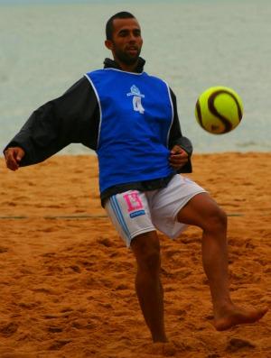 Bruno Xavier futebol de areia (Foto: Pauta Livre/divulgação)