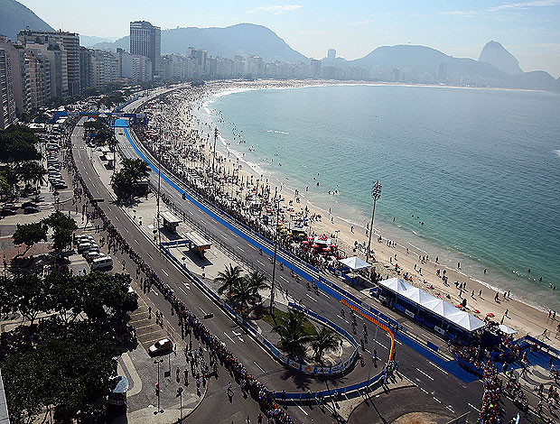 praia copacabana (Foto: Getty Images)