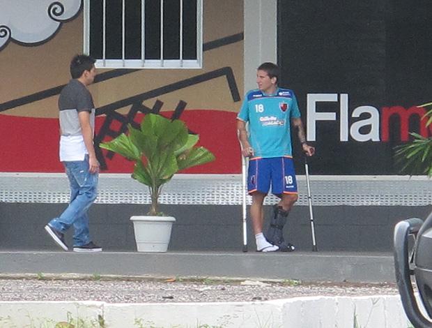 Fierro e Botinelli no Flamengo (Foto: Richard Souza / Globoesporte.com)