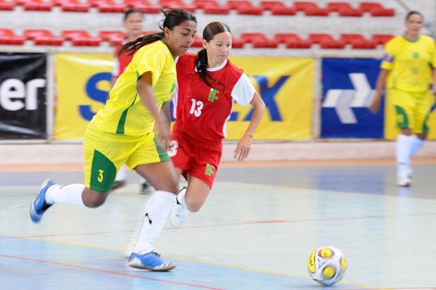 Taça Brasil Feminina  de Futsal (Foto: Divulgação / CBFS)