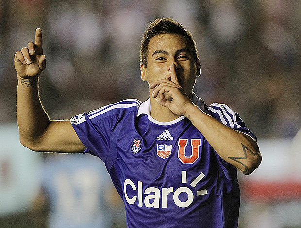 vargas arsenal x universidad do chile (Foto: EFE)