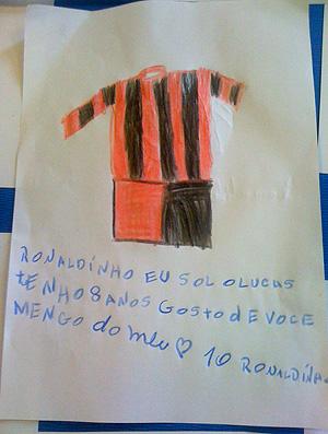 Unicef Flamengo (Foto: Divulgação)