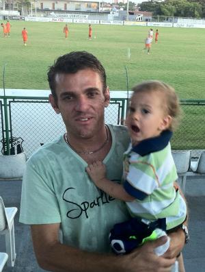 Volante Júnior Cearense visita Ceará em Porangabuçu (Foto: Gioras Xerez/Globoesporte.com)